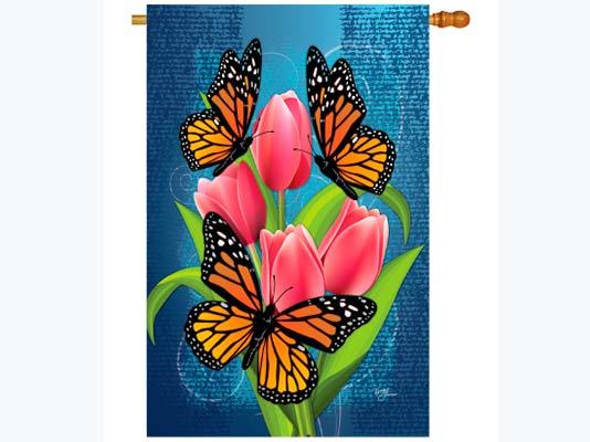 Indian Flag Butterflies: Monarch Butterflies Home Flag