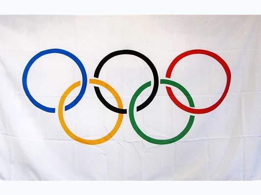 Olympic Rings Flag