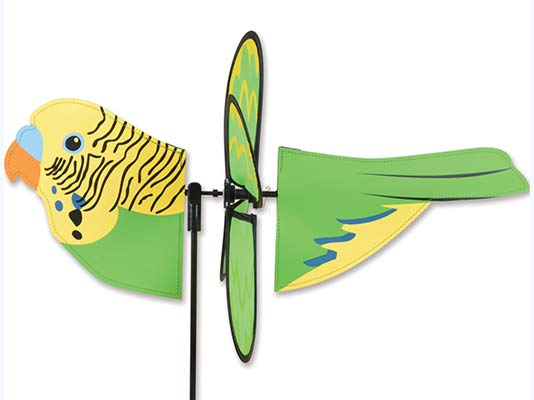Parakeet Wind Spinner